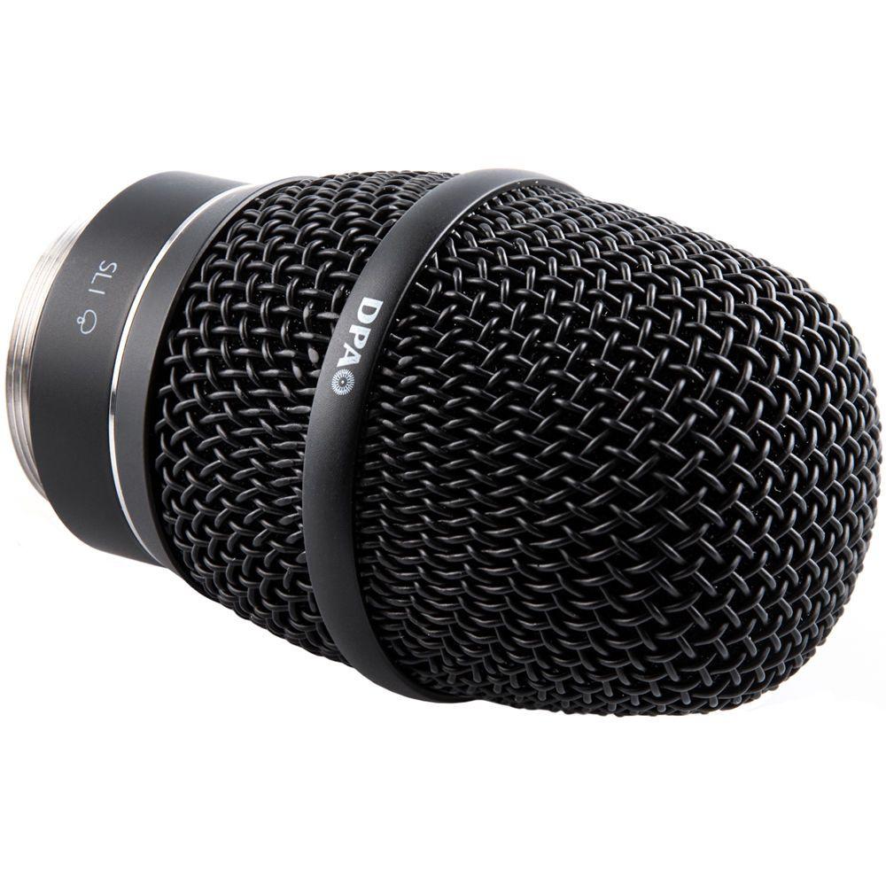 2028 Supercardioid Vocal Mic, SL1 Adapter (Shure/Sony/Lectrosonics), Black
