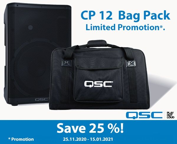 QSC CP12 Bag Pack