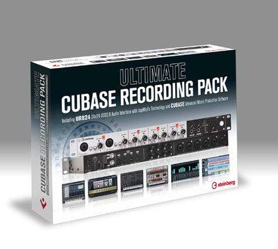 STEINBERG Ultimate Cubase Recording Pack EU (UR824 + CUBASE PRO)