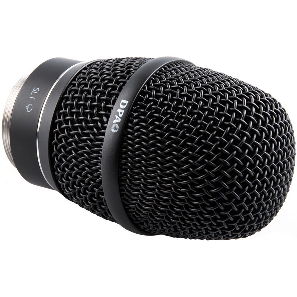 2028 Supercardioid Vocal Mic, SL1 Adapter (Shure/Sony/Lectrosonics), Black
