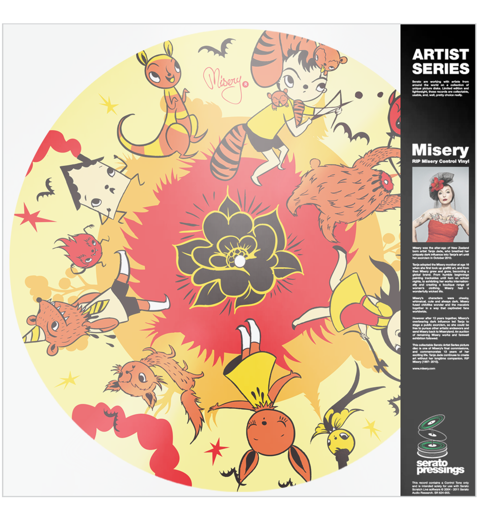 Serato Artist Series (Picture discs) - Misery Picture Disc (Single)