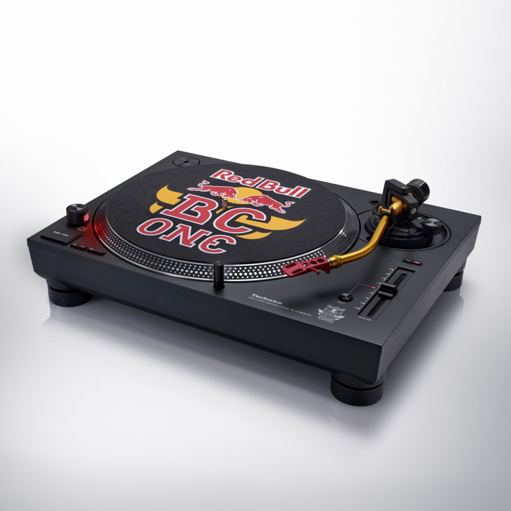 TECHNICS SL 1210 MK7 RED BULL BC ONE SPECIAL LIMITED EDITION
